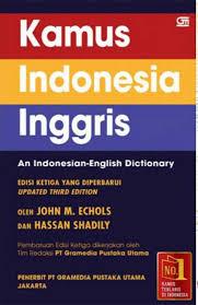 Kamus Indonesia – Inggris